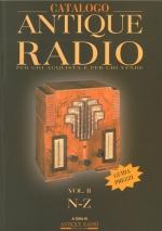 Catalogo Antique Radio Vol. 2 N-Z