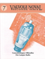 Valvole Noval - seconda serie
