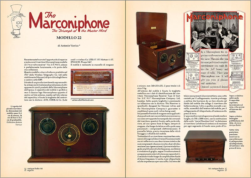 Antique Radio Magazine